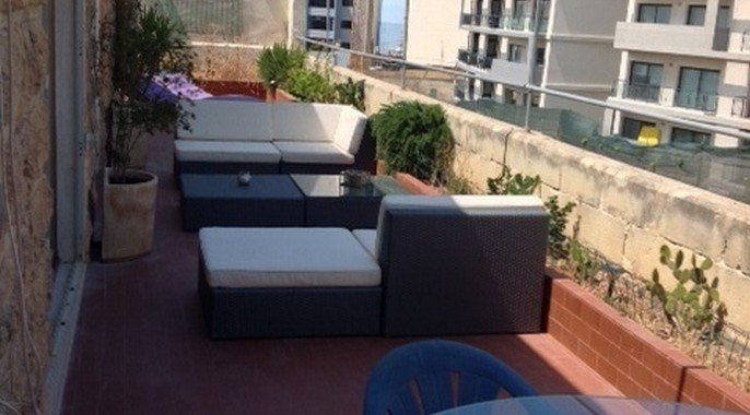 Wonderful terrace real estate malta