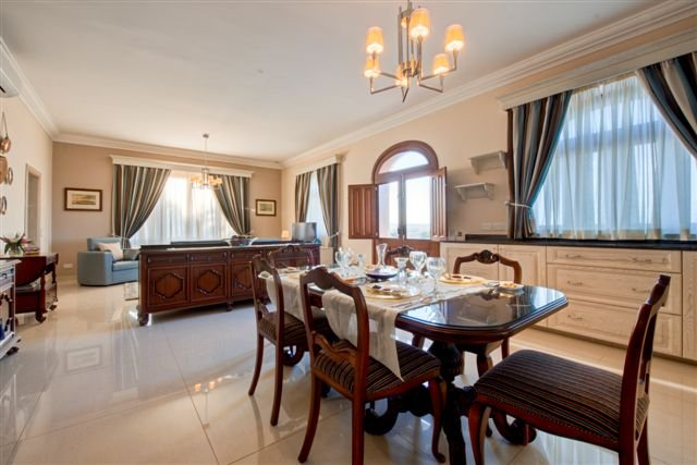 dining room in malta real estate