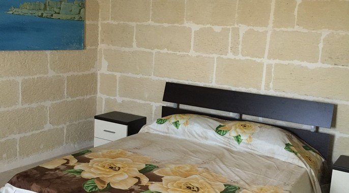 bedroom in a gozo real estate