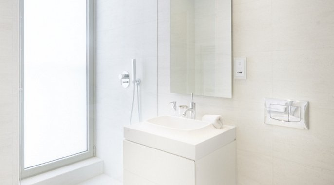 Bathroom design in Malta real estate