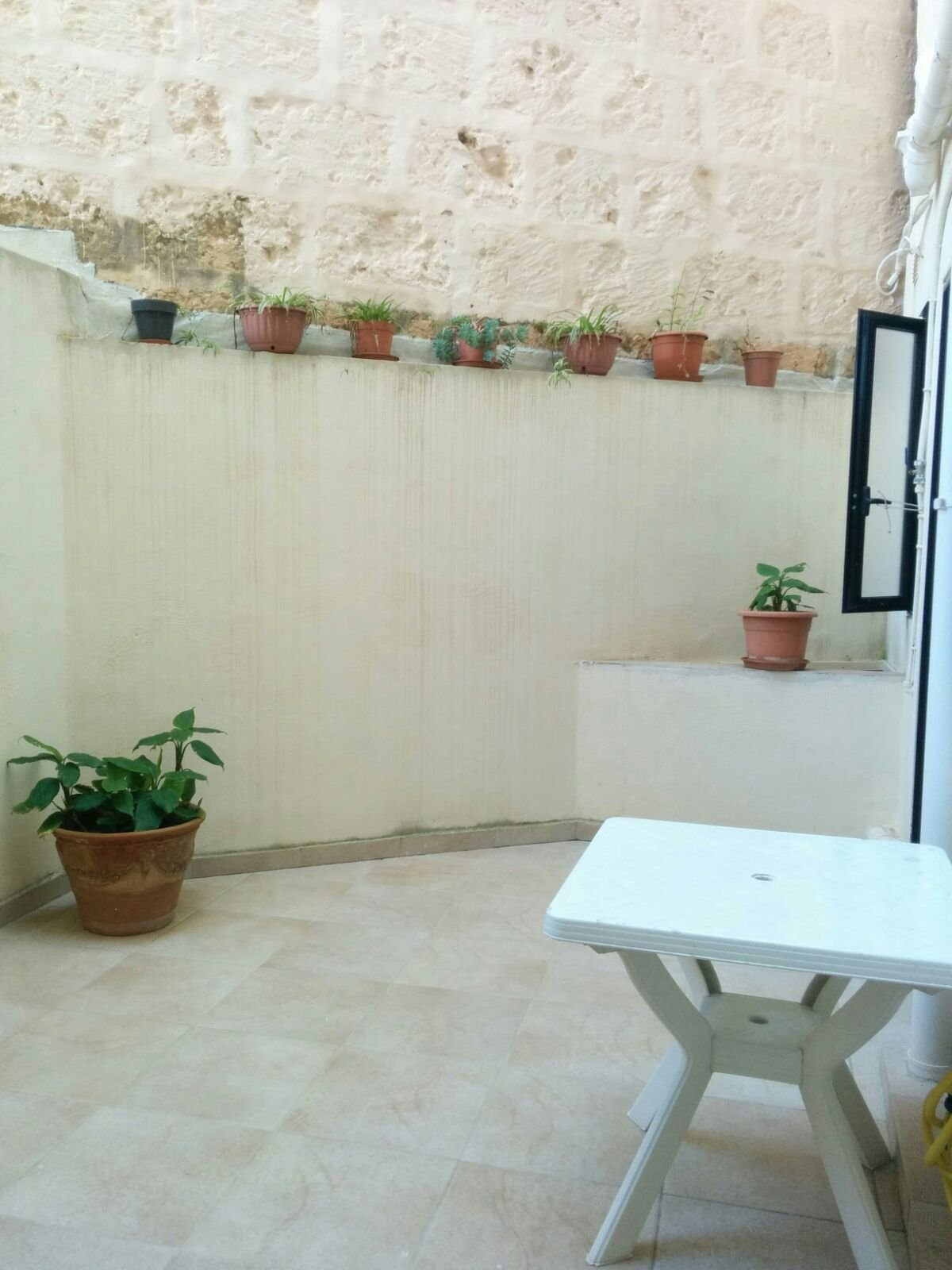 Fully furnished backyard rental Malta