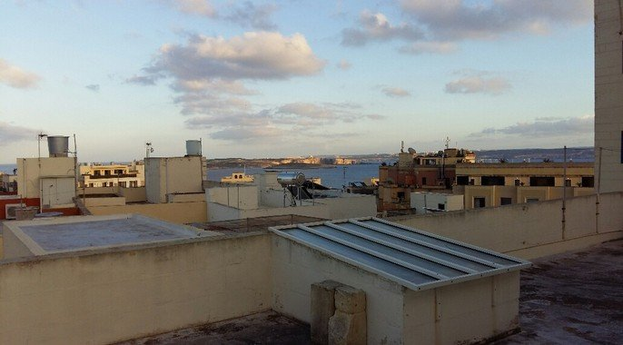 Distant seaviews in Gozo property