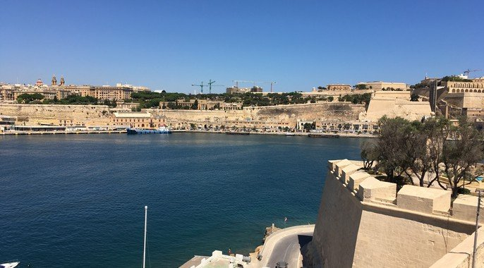 view moving to malta