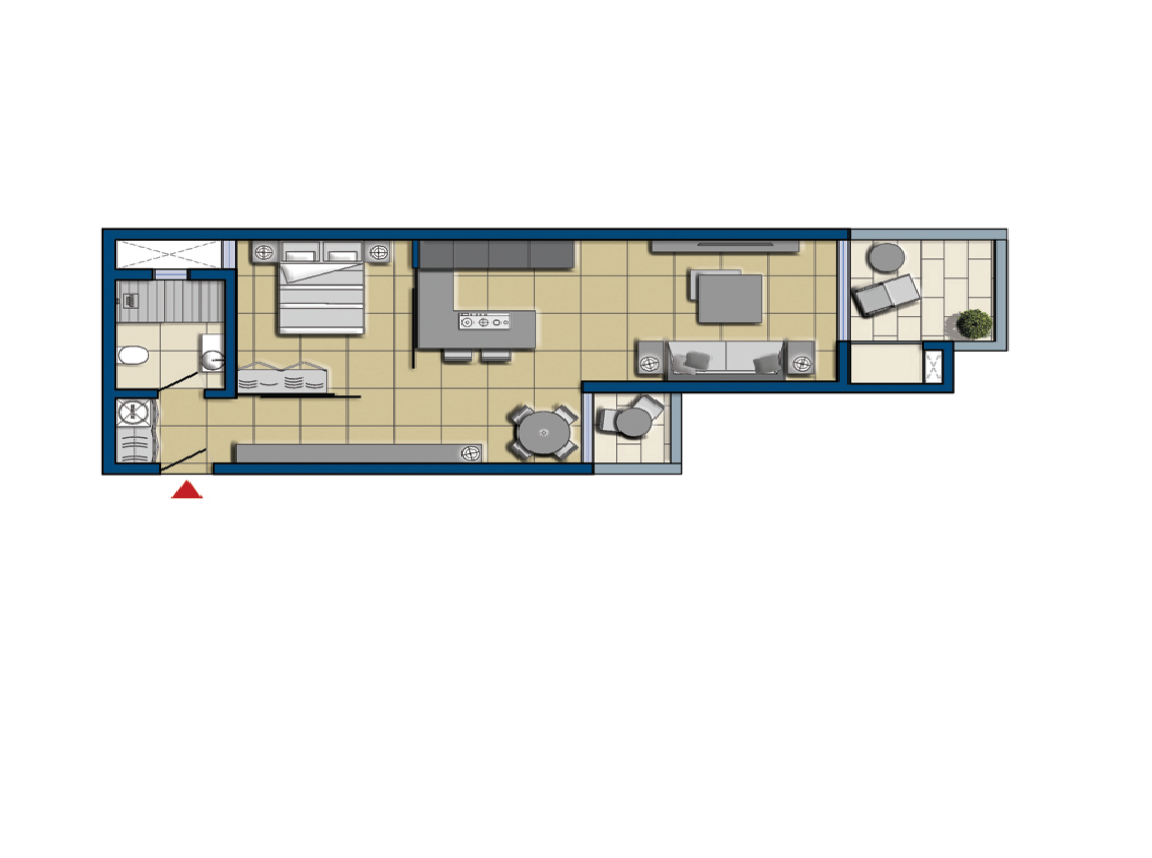 holiday apartments malta: Plan