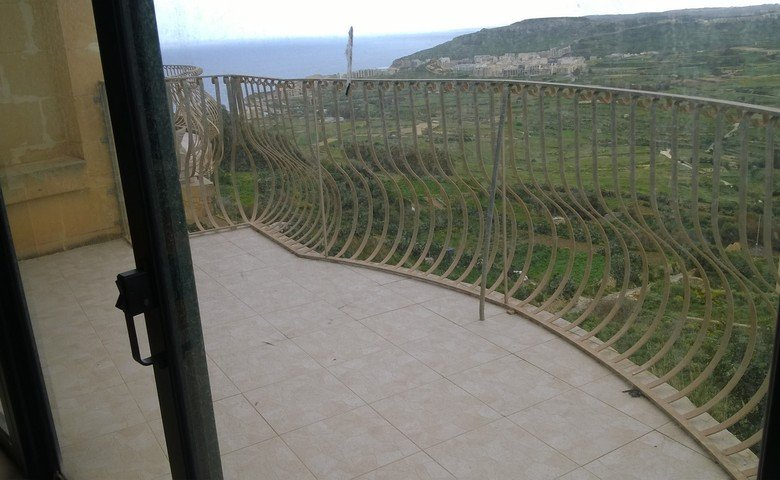 Gozo real estate: Terrace with views