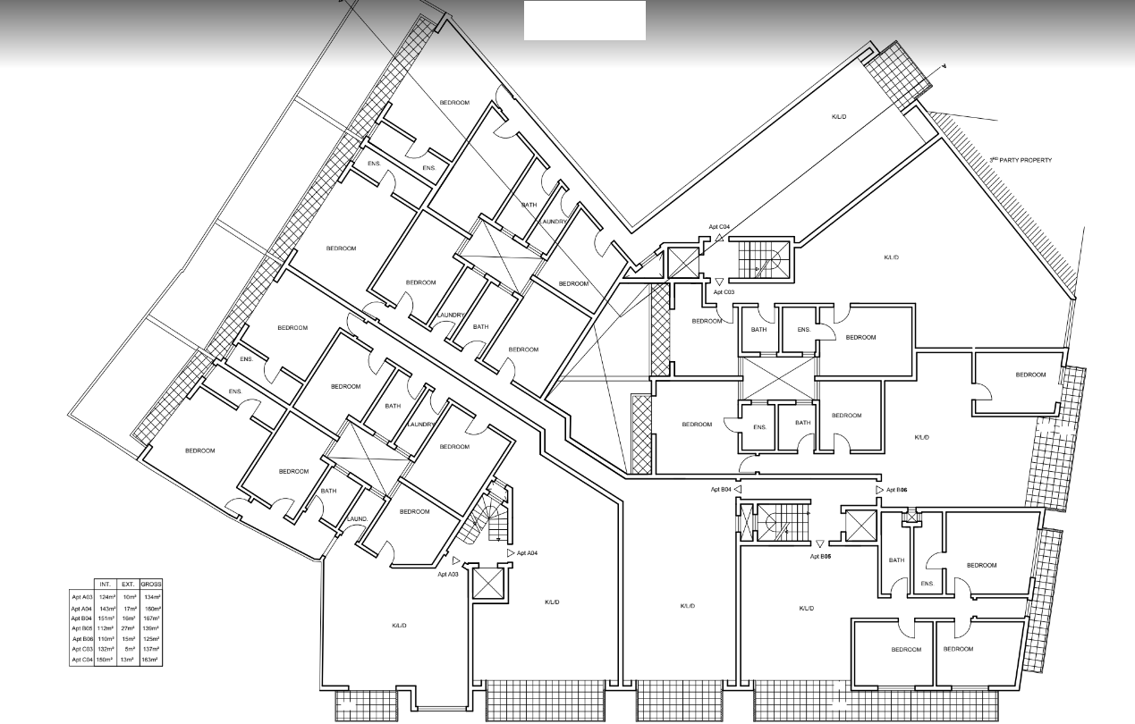apartments in malta: Plans