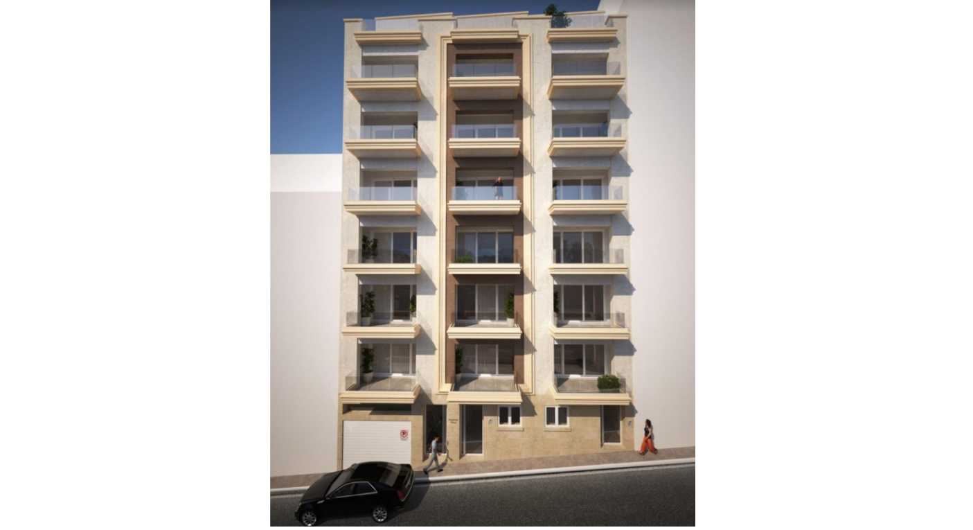 real estate Malta: new block