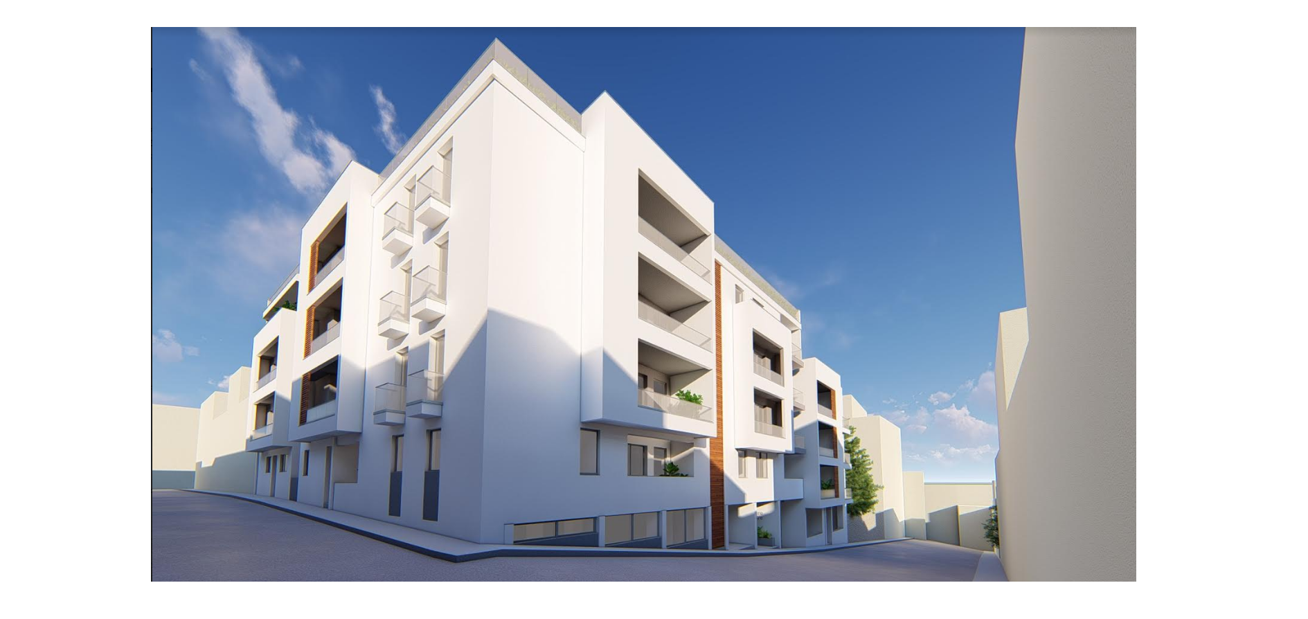malta real estate: New block