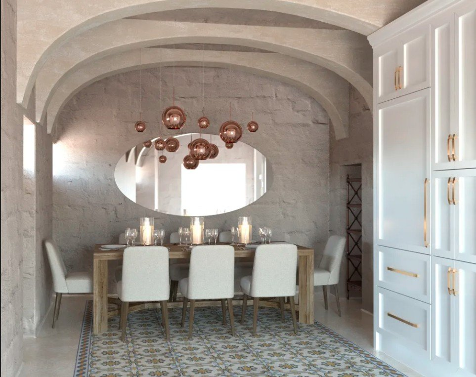 Homes for sale in Malta: Dining room