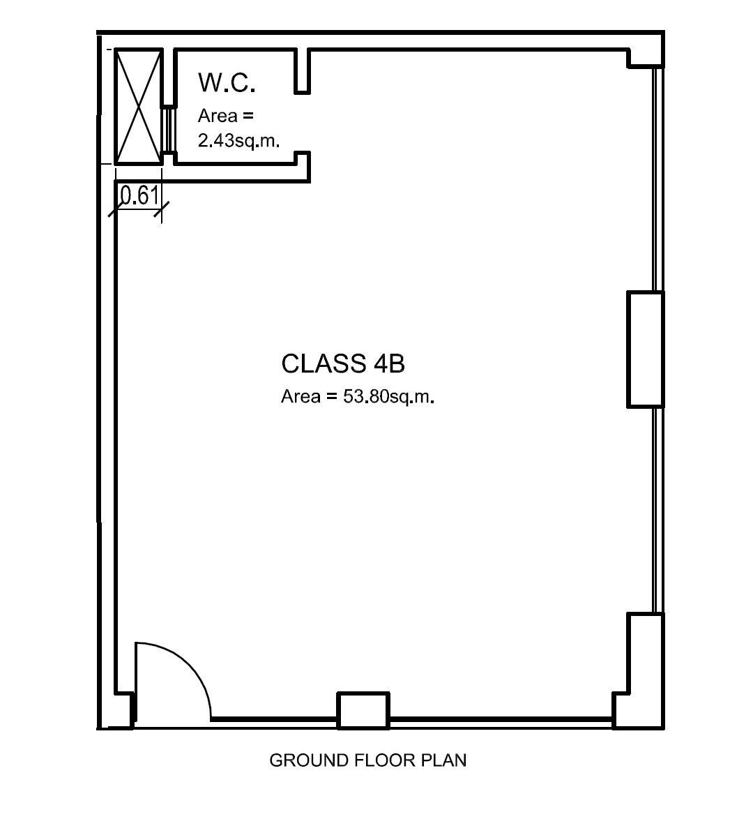m alta property: Plan