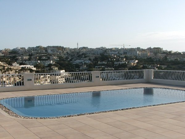 villa with pool in Malta views in mellieha