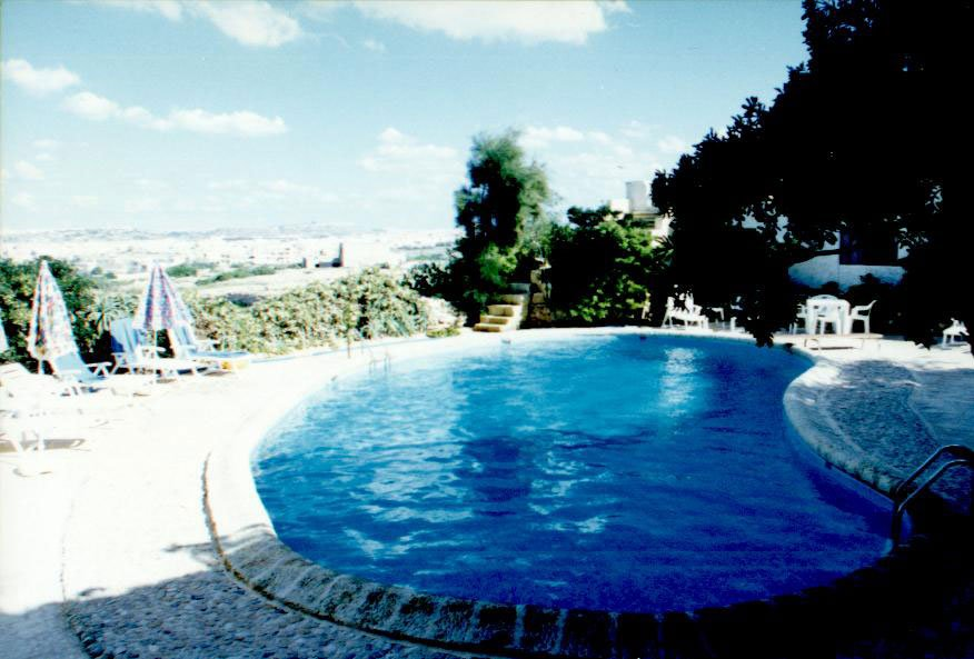 House with pool and view in Kercem Gozo