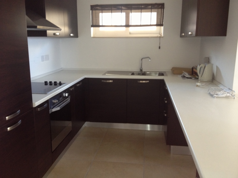 Kitchen in apartment to let