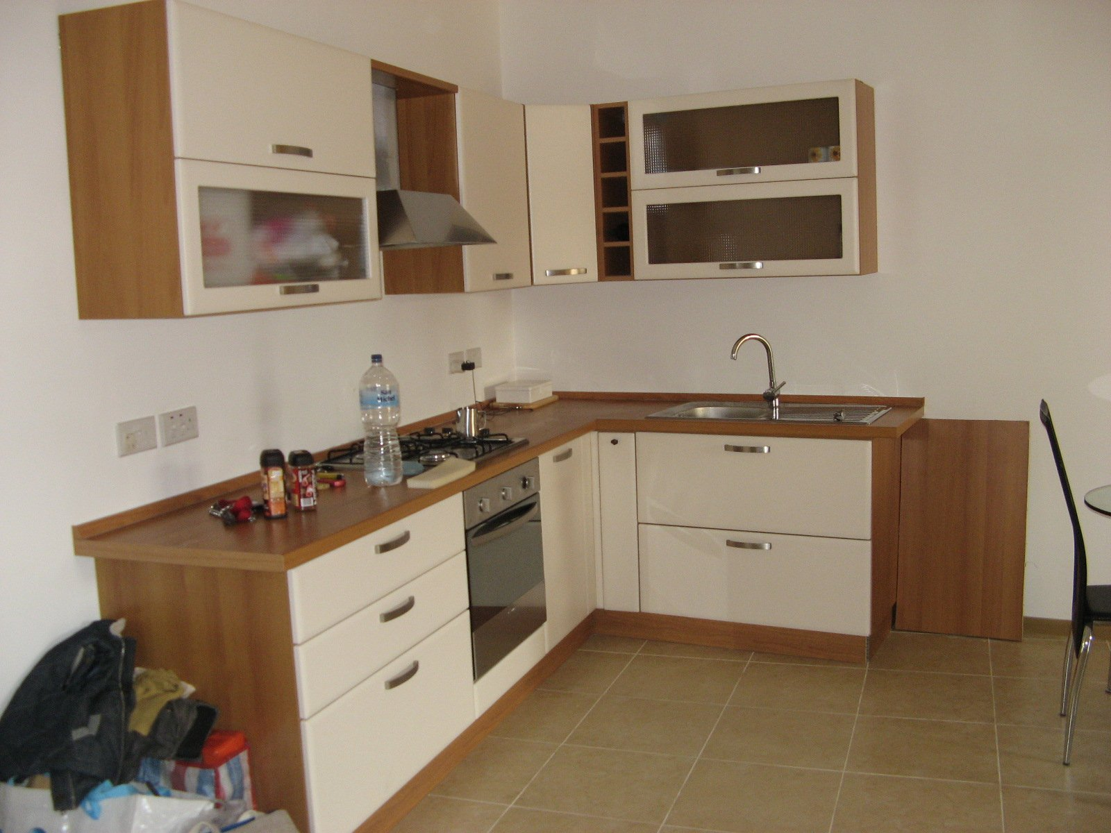 Fully furnished kitchen gozo property