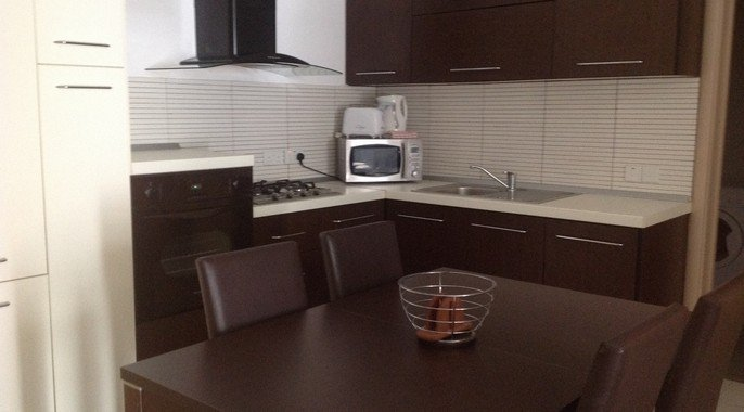 Brand New kitchen in Malta property for rent