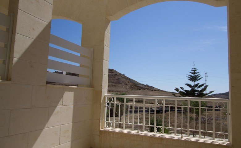 Gozo property: Terrace and view