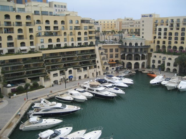malta apartments for sale: marina view