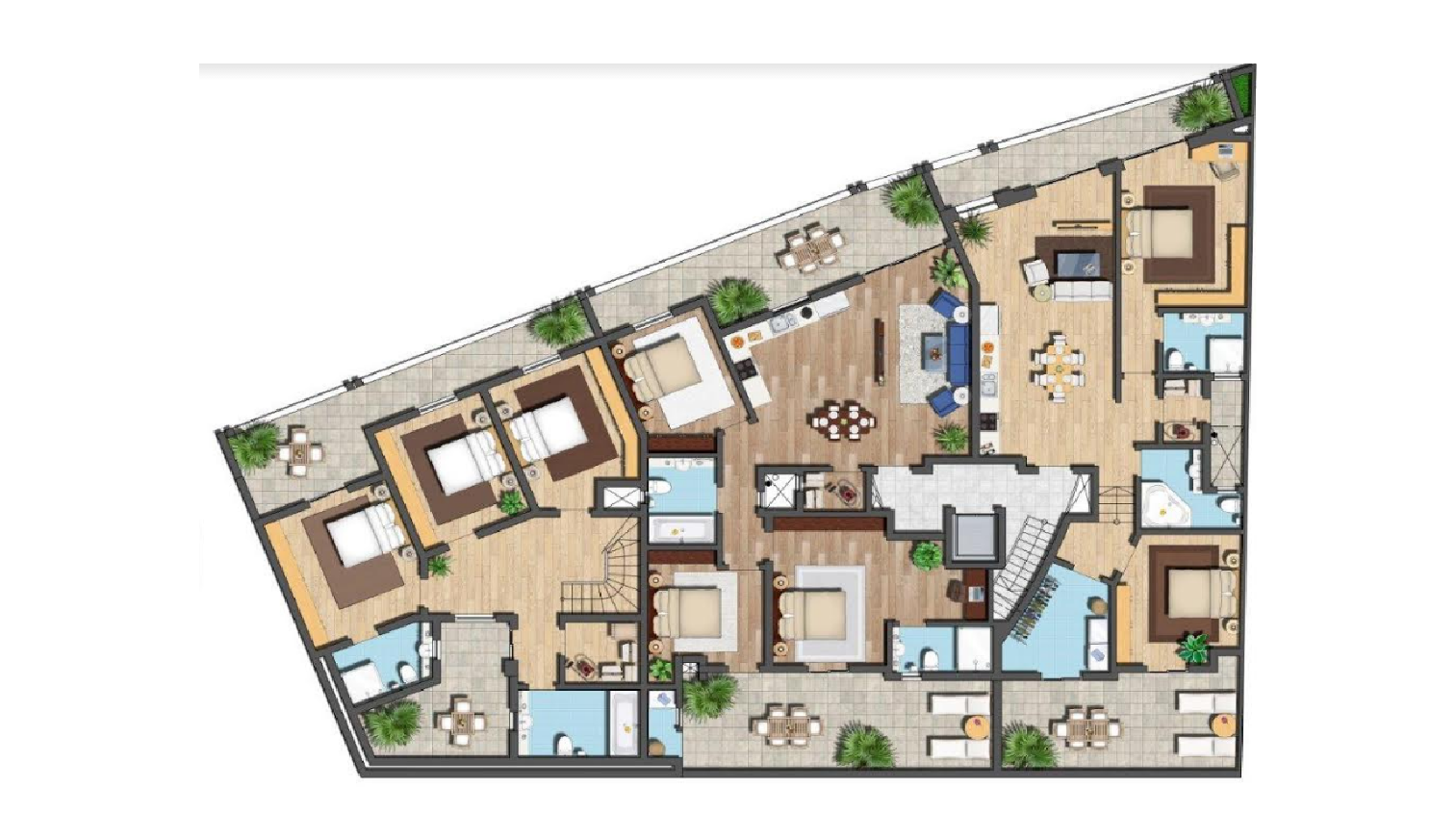 maisonettes for sale malta: plan