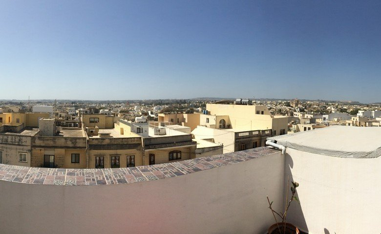 malta property agents: Terrace with views