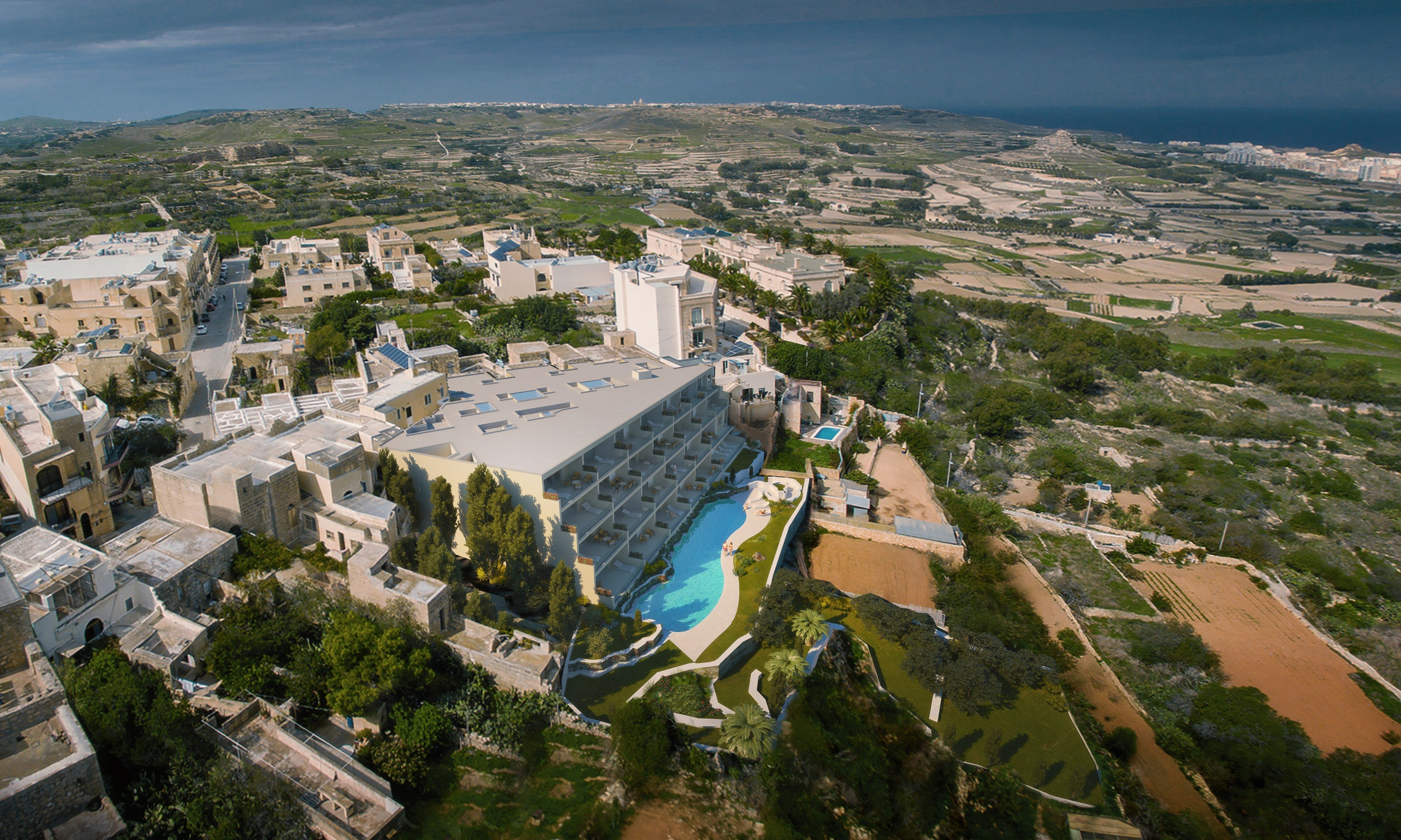 Gozo real estate: Country views