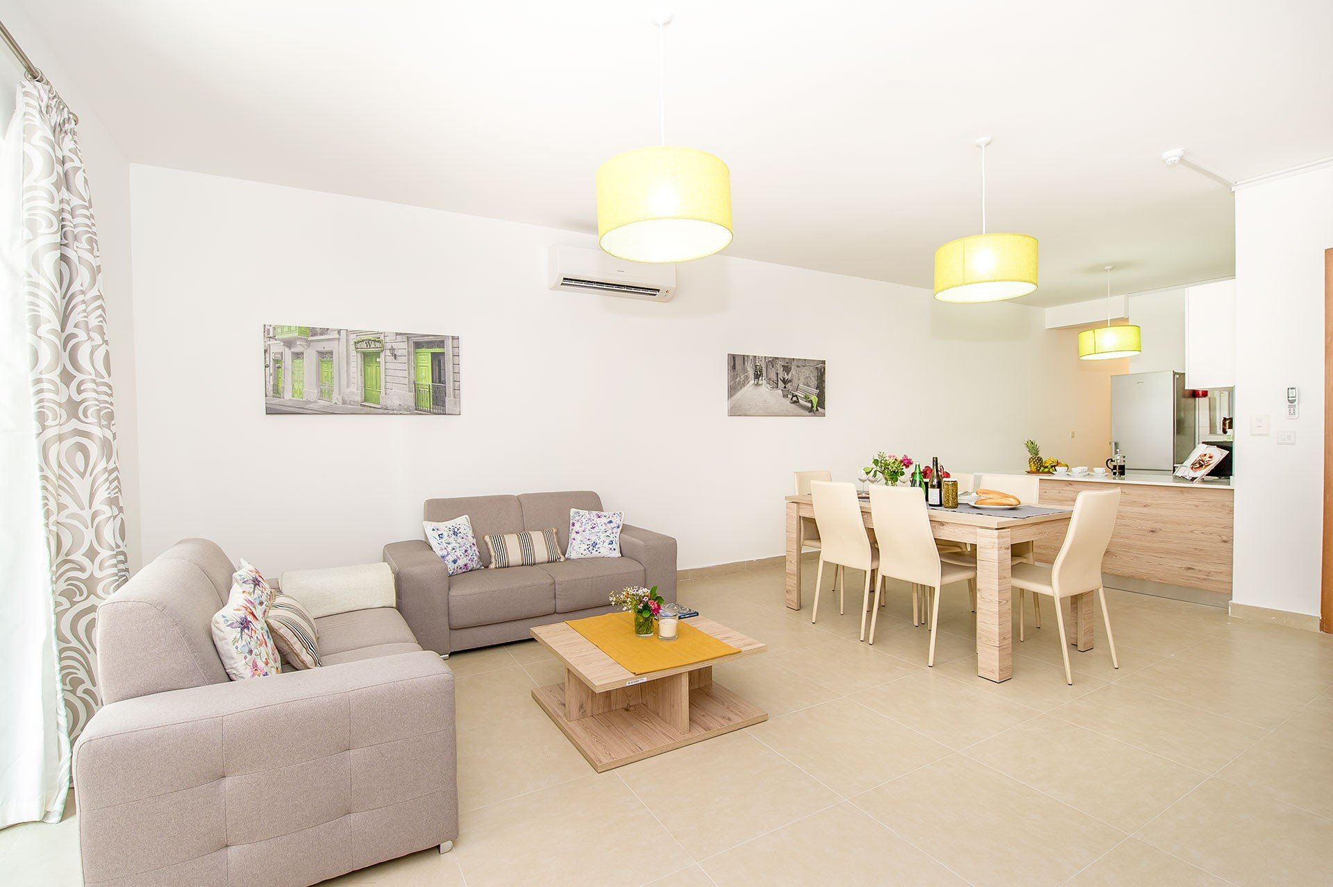Gozo property: Living area