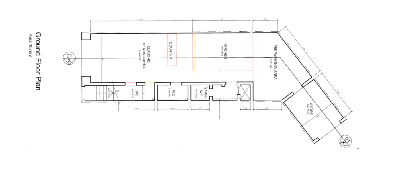 Commercial for sale: Plan