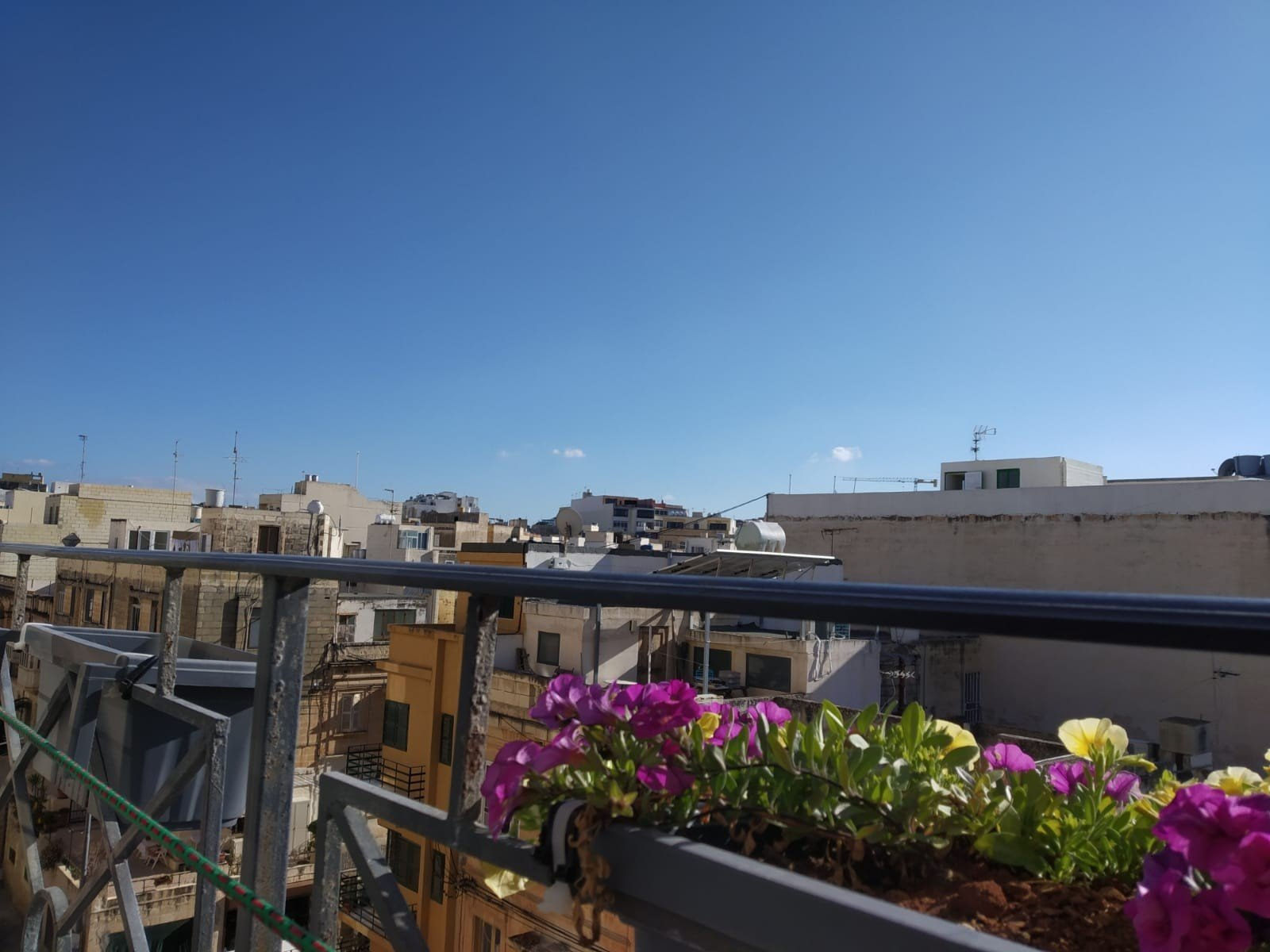 Malta property: Terrace with views