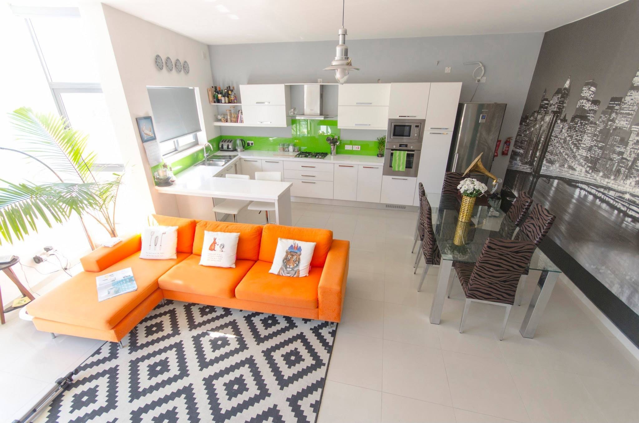 Apartments for sale in Malta: Living area