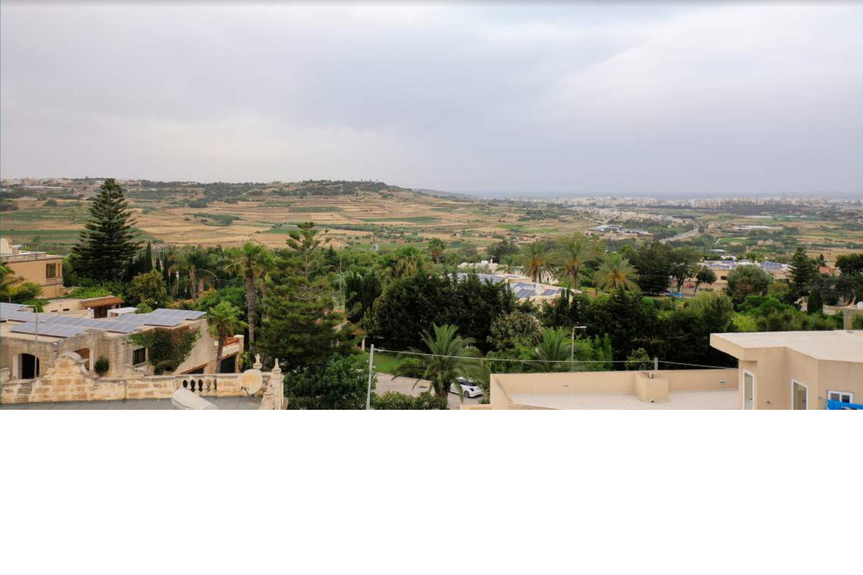 Malta property: Country views