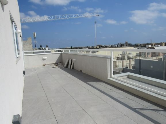 Malta property: Terrace with country views