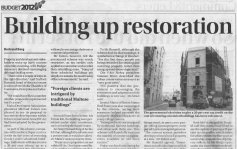 Feature: Building up Restoration malta, property malta, letting malta, real estate malta, simon mamo malta