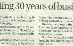Feature: Celebrating 30 years of business malta, property malta, letting malta, real estate malta, simon mamo malta