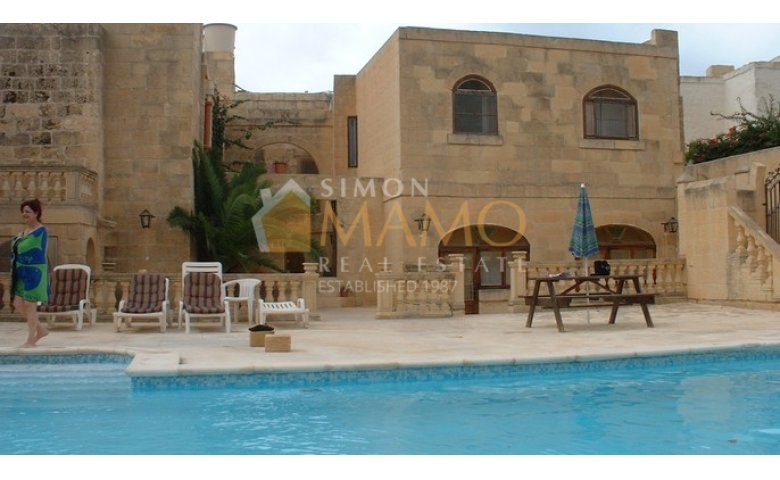 Gozo Property for Sale: 4 Bedroom Farmhouse with Pool ...