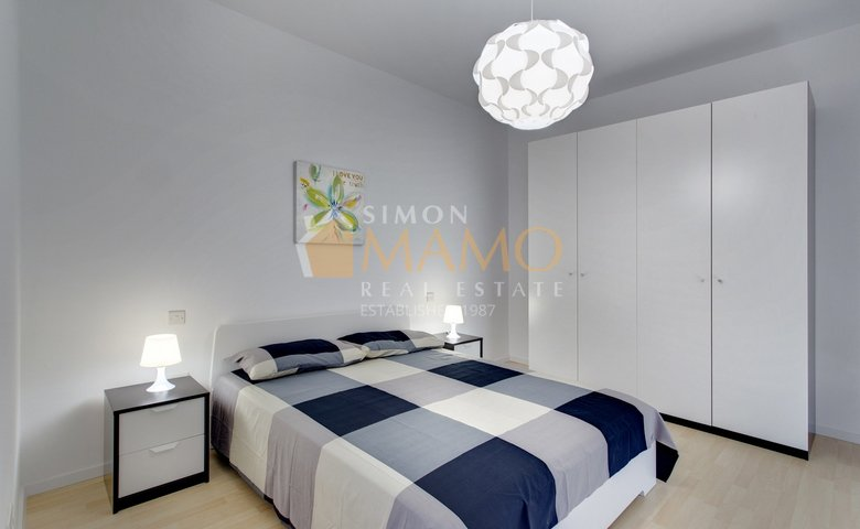 Apartments For Rent In Malta: Sliema Seafront 2 Bedroom Property For Rent :  Ref No 34846