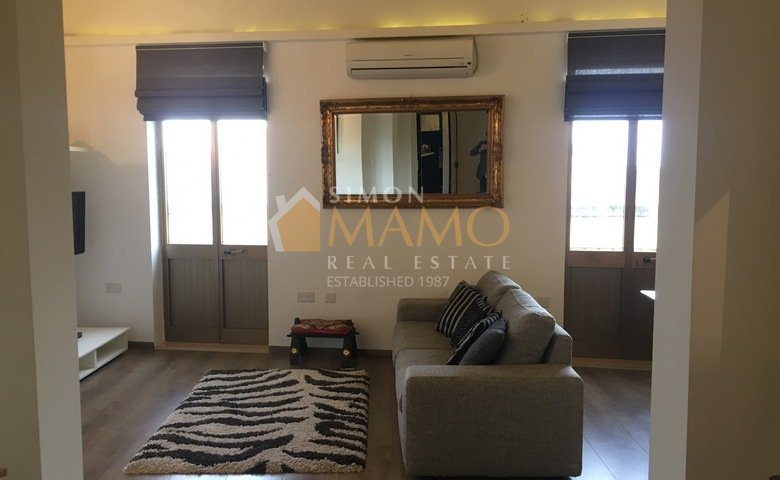 Apartments For Rent In Malta: Valletta Flat For Rent With 2 Bedrooms : Ref  No 35377