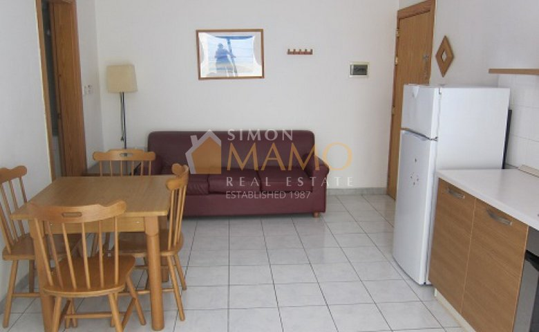 Apartments For Rent In Malta: Gzira 1 Bedroom Flat To Let : Ref No 35743
