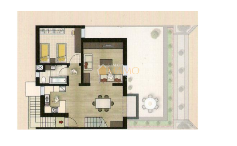 Gozo real estate  2 Bedroom Duplex Apartment for sale in New block in Fort  Chambray   Ref No 35825. Gozo real estate  2 Bedroom Duplex Apartment for sale in New block