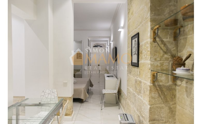 Apartments For Rent In Malta: Valletta 1 Bedroom Flat For Rent : Ref No  37781