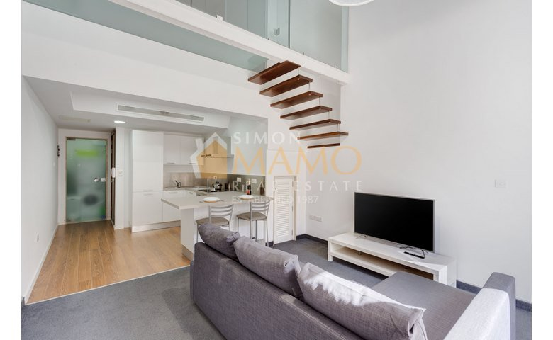 Captivating Apartments For Rent In Malta: Gzira 1 Bedroom Duplex Apartment To Let : Ref  No 38533