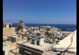 Apartments to let in Malta: Valletta flat with 1 bedroom for short lets  malta, property malta, letting malta, real estate malta, simon mamo malta