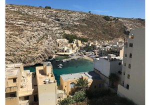 Real estate Gozo: Xlendi 2 bedroom penthouse for rent  malta, property malta, letting malta, real estate malta, simon mamo malta