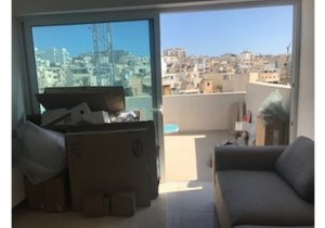 Estate agents Malta: Penthouse in Gzira with 2 bedrooms malta, property malta, letting malta, real estate malta, simon mamo malta