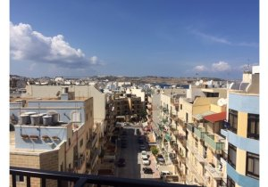 Real estate Malta: Qawra penthouse with 3 bedrooms malta, property malta, letting malta, real estate malta, simon mamo malta