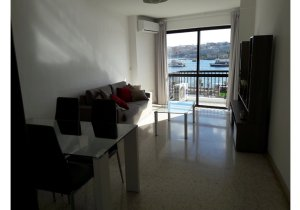 Apartments for rent in Malta: 1 double bedroom flat in Sliema malta, property malta, letting malta, real estate malta, simon mamo malta