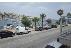 Apartment to let in Malta: Xemxija seafront property for rent malta, property malta, letting malta, real estate malta, simon mamo malta