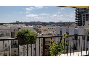 Real estate agents Malta: Gzira penthouse for rent with a bright sunny terrace malta, property malta, letting malta, real estate malta, simon mamo malta