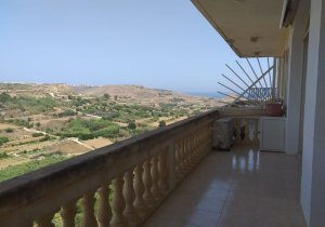 Gozo Property: Cliff edge Apartment for rent in Xaghra malta, property malta, letting malta, real estate malta, simon mamo malta