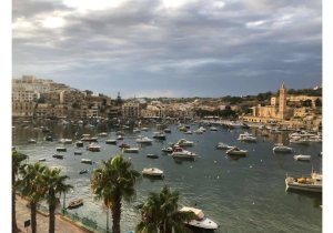 Estate Agents Malta: M'Scala penthouse with 1 bedroom overlooking the promenade malta, property malta, letting malta, real estate malta, simon mamo malta