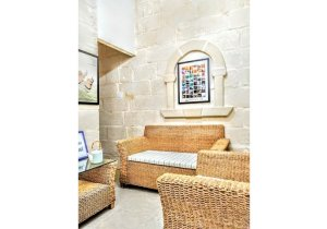 Real Estate Malta: Senglea house of character for rent with 2 bedrooms malta, property malta, letting malta, real estate malta, simon mamo malta