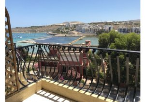 Apartments for rent in Malta: Qawra 3 bedroom flat to let malta, property malta, letting malta, real estate malta, simon mamo malta